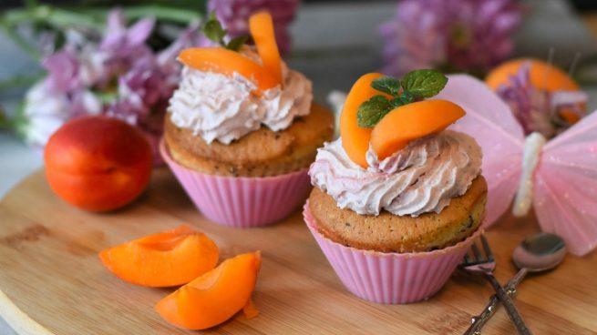 Receta de muffins de albaricoques y arándanos sin gluten ni azúcar