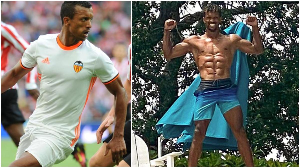 El antes y el después de Nani.