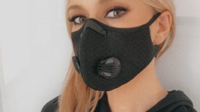 Instagram: Patricia Conde contradice a Fernando Simón y usa una mascarilla con válvula