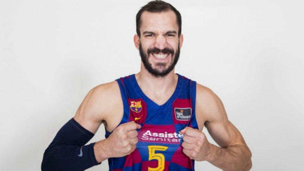 Pau Ribas, en su última temporada como culé.