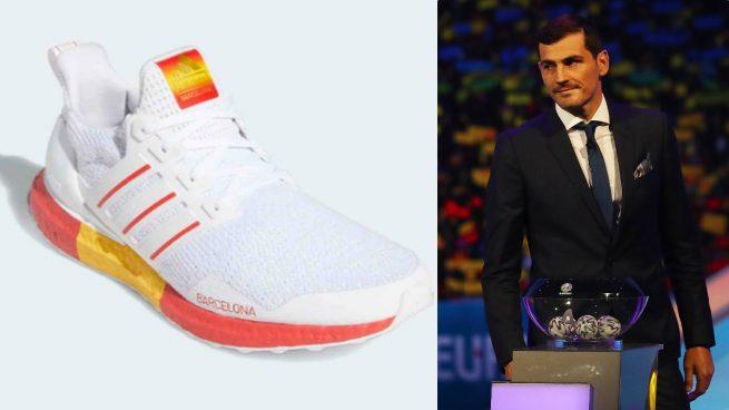 Casillas zapatillas barcelona