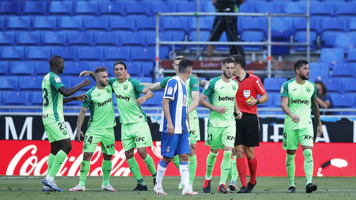 El Leganés venció al Espanyol en Cornellá. (0-1)