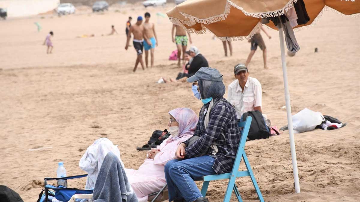 Playa de Marruecos. Foto: Europa Press