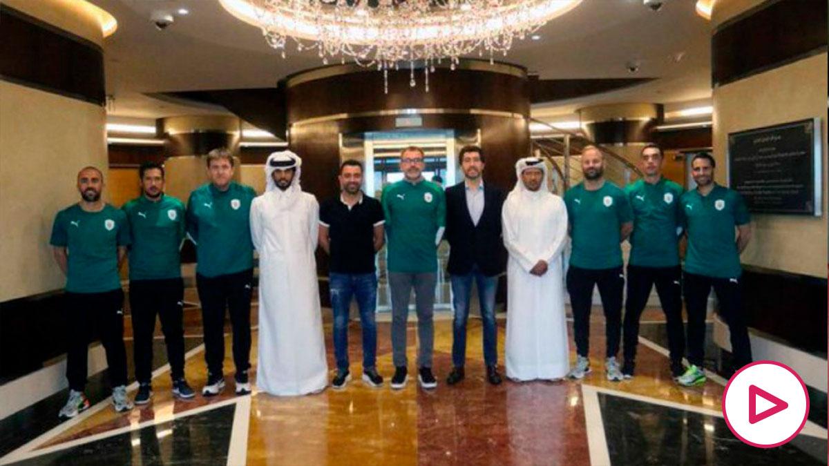 Xavi renueva con el Al Sadd.
