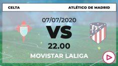 Liga Santander 2019-2020: Celta – Atlético de Madrid| Horario del partido de fútbol de Liga Santander.