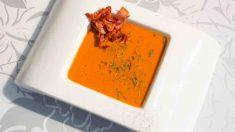 3 recetas de sopas frías de verduras para el verano
