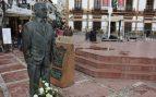 Monumento de Blas Infante en La Roda.
