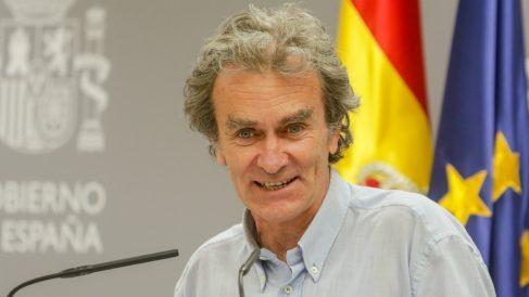 Fernando Simón, El director del Centro de Coordinación de Alertas y Emergencias Sanitarias (CCAES).
