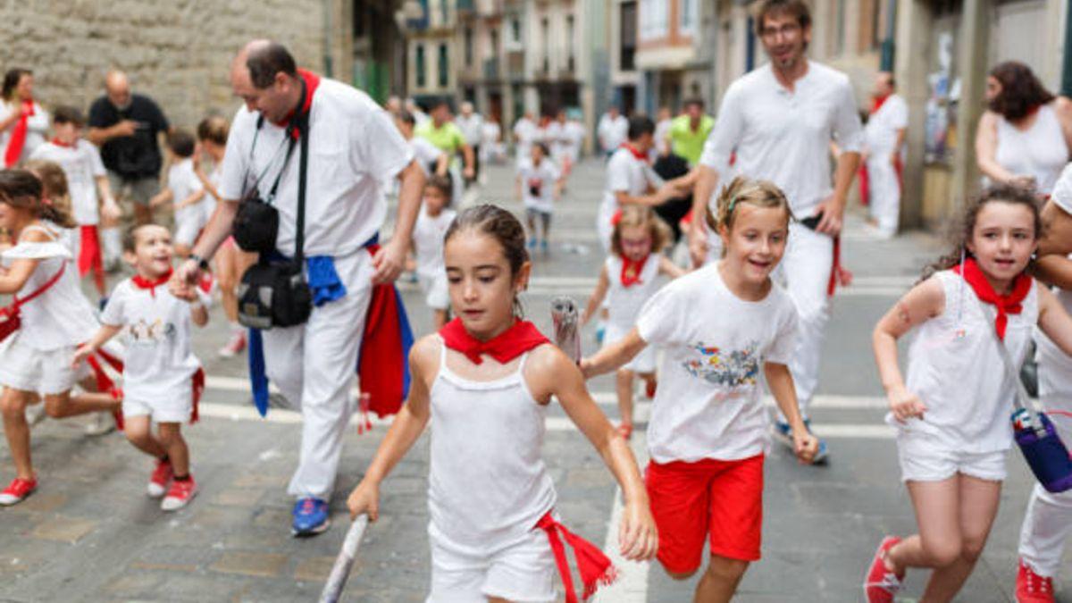 Las mejores manualidades infantiles relacionadas con San Fermín