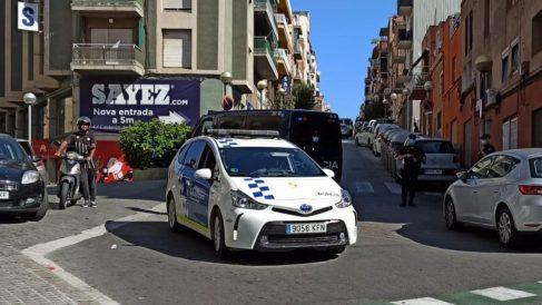 Operación contra el yihadismo en Badalona. (Foto: Guardia Urbana)