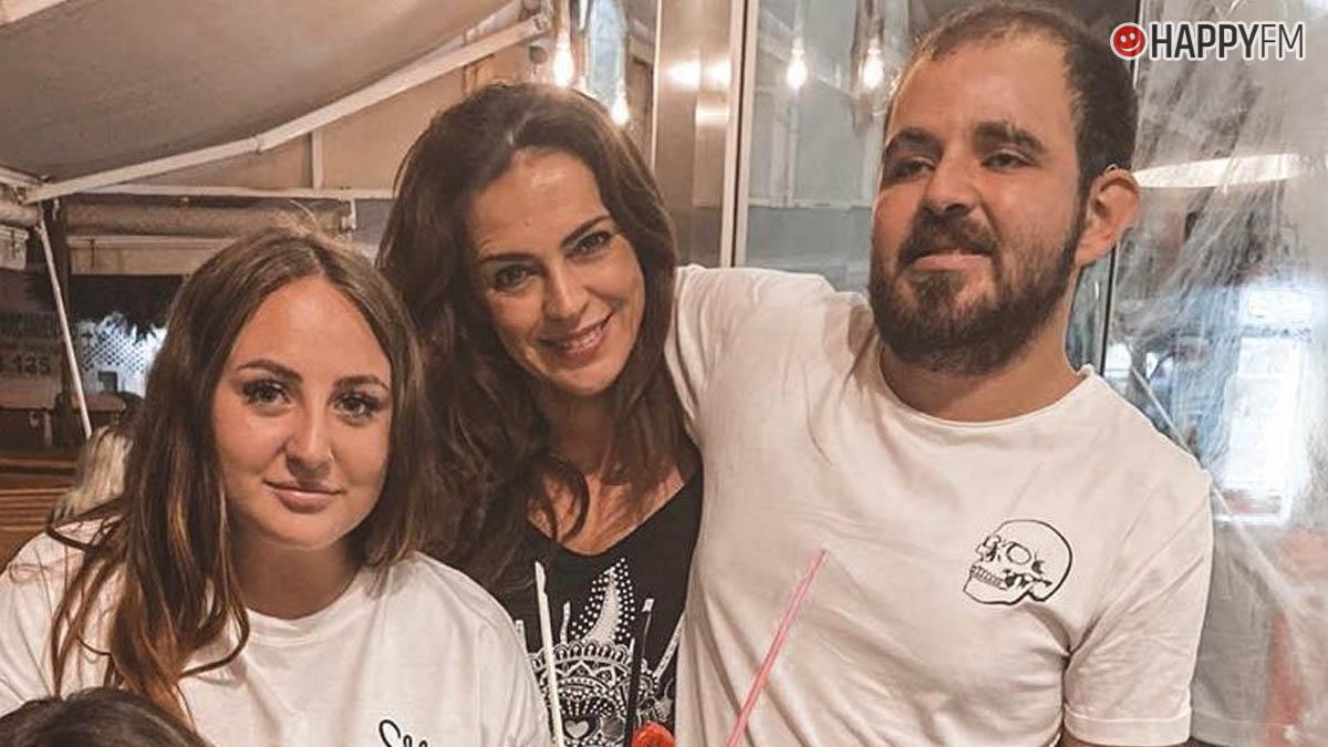 Rocío Flores, Olga y David Flores