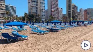 Playa de Levante, Benidorm, Alicante