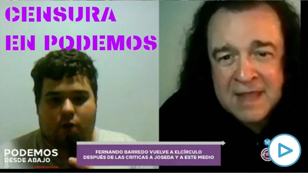 El canal de los militantes de Podemos censura al crítico que denuncia un pucherazo en las primarias