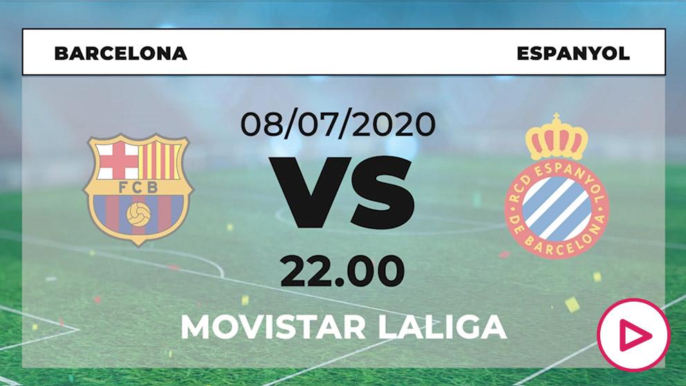 Barcelona – Espanyol: jornada 35 de la Liga Santander.