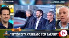 Luis Suárez intercedió a favor de Griezmann.
