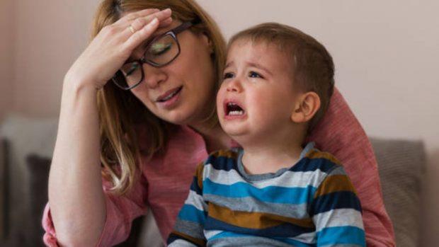 Niños que chillan: Cómo manejar la situación