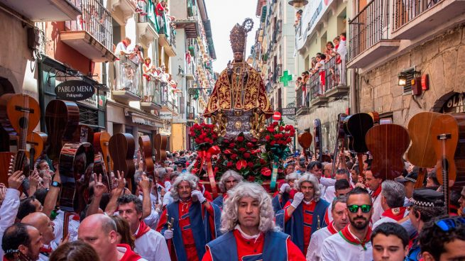 procesión san fermín 2020