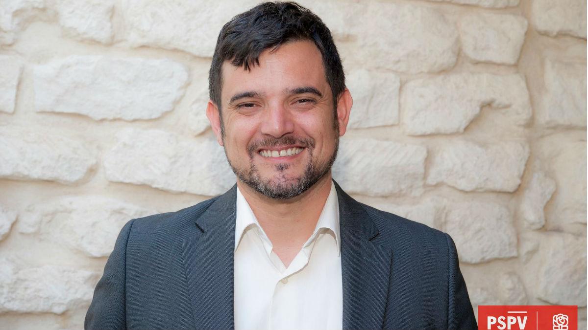 El alcalde del PSOE en San Juan de Alicante, Jaime Albero. (Foto: PSOE San Juan de Alicante)