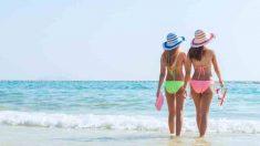 Beneficios de caminar en la playa