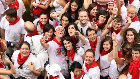 El atuendo de San Fermín es famoso en el mundo entero