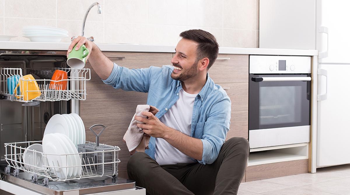 Utilizar el lavavajillas supone un gran ahorro de agua