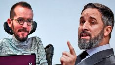 Echenique (Podemos) y Abascal (Vox)