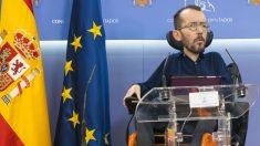 El portavoz de Podemos en el Congreso, Pablo Echenique. (Foto: EP)