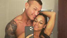 Randy Orton, con su mujer.