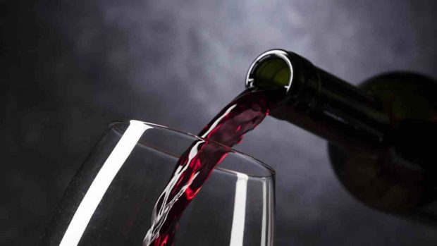 Receta de smoothie de vino tinto