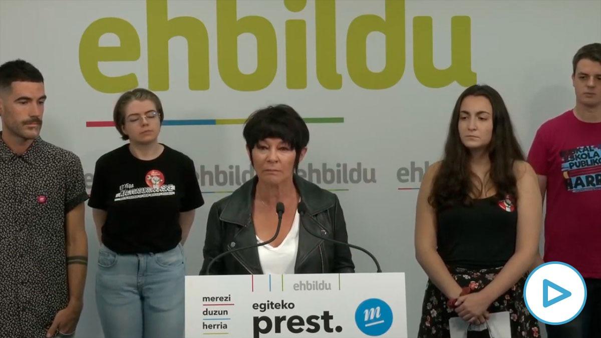 El Sindicato de Estudiantes, liderado por una 'joven' de 33 años, pide el voto para los proetarras de Bildu