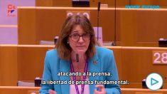Ciudadanos denuncia a Iglesias en el Europarlamento: «No podemos permitir los ataques a la prensa».