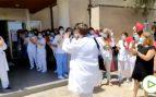 Emocionante recibimiento al jefe de cardiología del hospital de Manacor tras tres meses ingresado por COVID