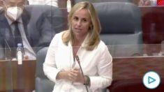 El repaso de Ana Camíns (PP) a Pedro Sánchez: «No ha pisado un hospital pero mandó a Franco contra a Ayuso».