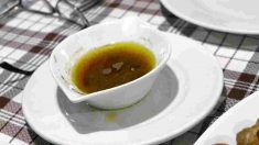 Receta de vinagreta de mora para ensaladas