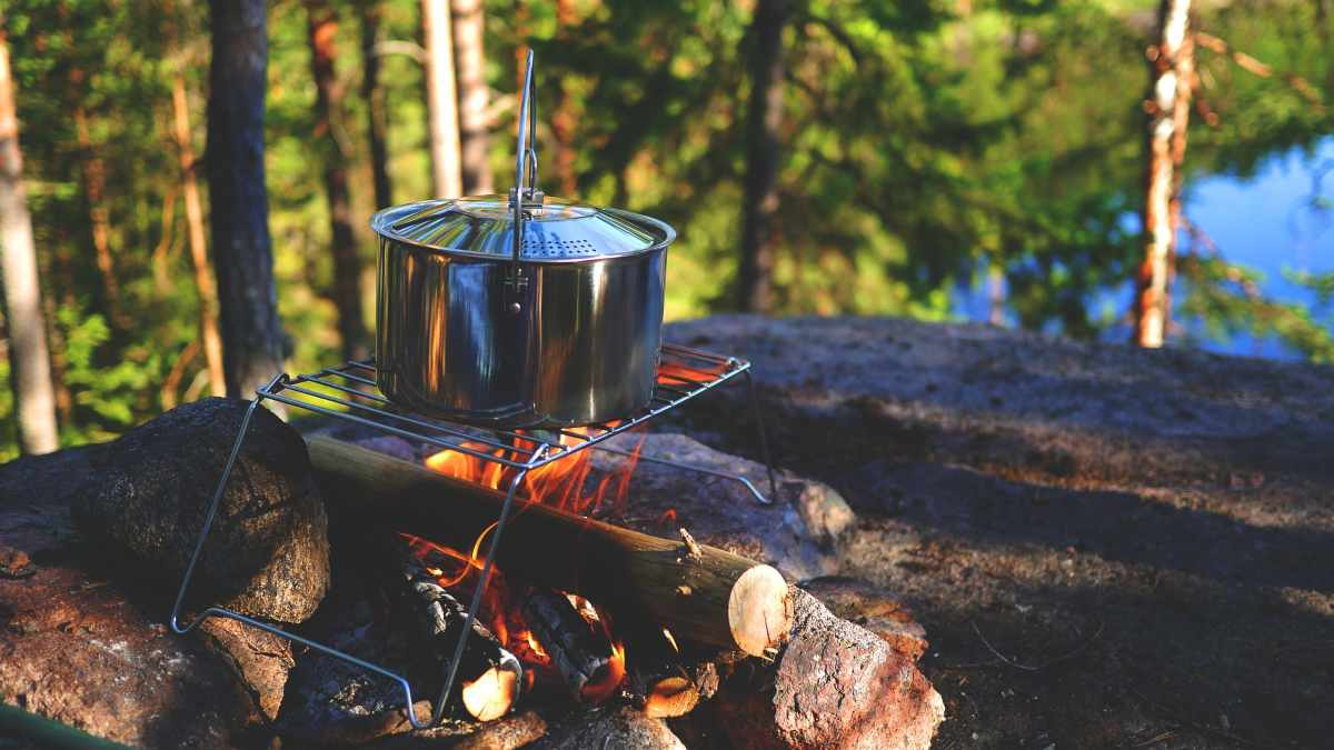 Ideas para cocinar en un camping