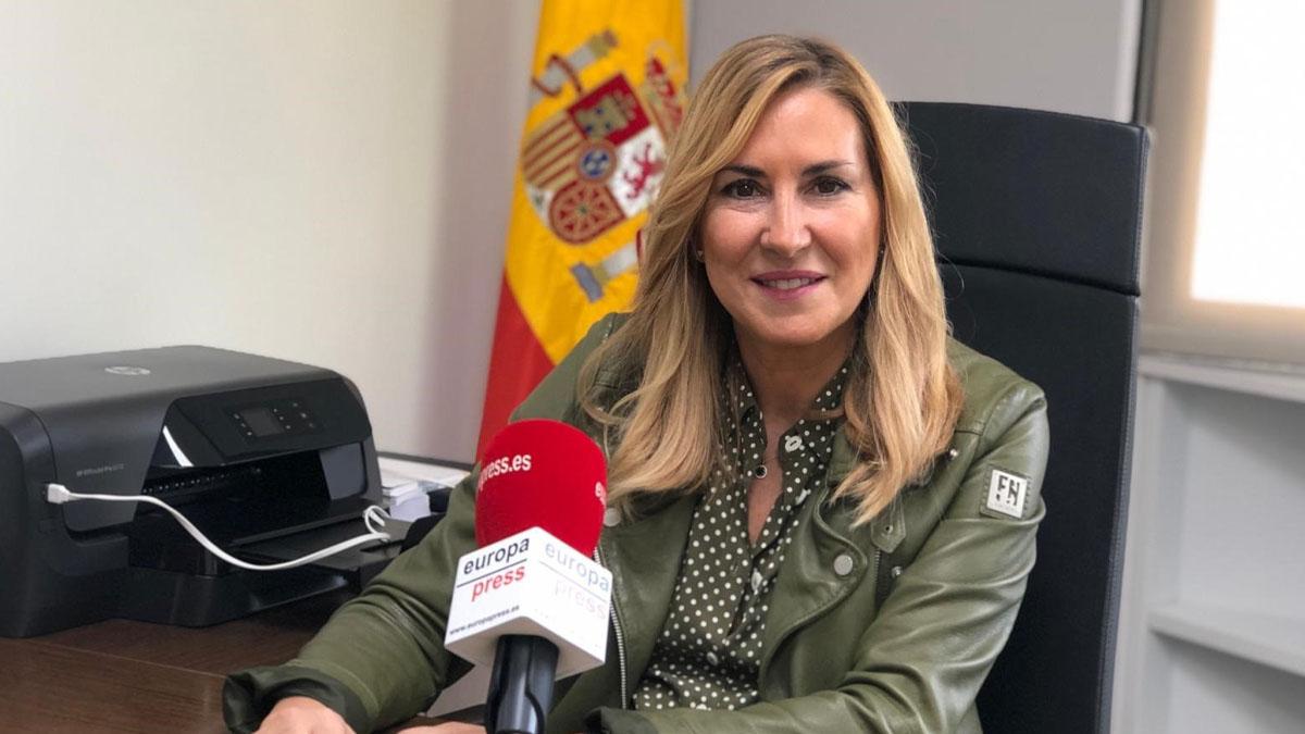 La presidenta del PP de Navarra y vicesecretaria de Organización del PP, Ana Beltrán. Foto: EP