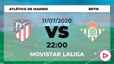 Atlético de Madrid – Betis: partido de la jornada 36 de Liga Santander.