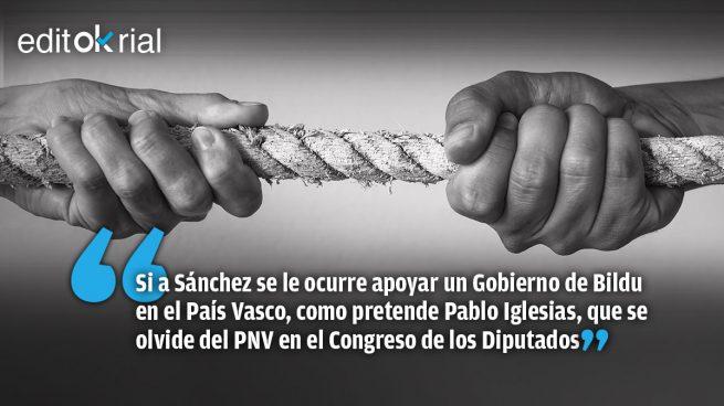 Recadito del PNV a Pedro Sánchez