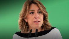 Susana Díaz, secretaria general del PSOE de Andalucía.