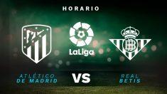 Atlético de Madrid – Betis: partido de la jornada 36 de la Liga Santander.