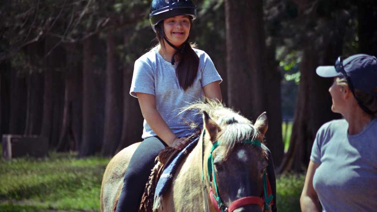 Equinoterapia, ,con caballos