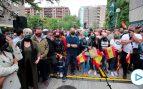 Vox cierra su campaña en Vitoria entre radicales y cargas policiales