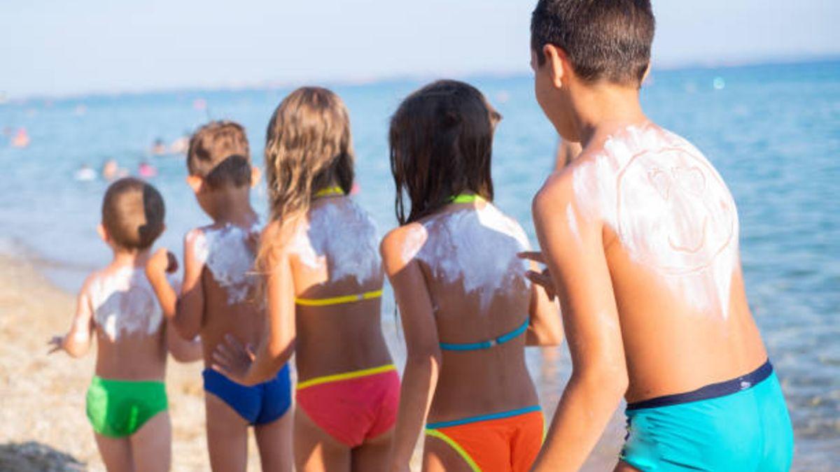 Preguntas y respuestas sobre el protector solar en los niños