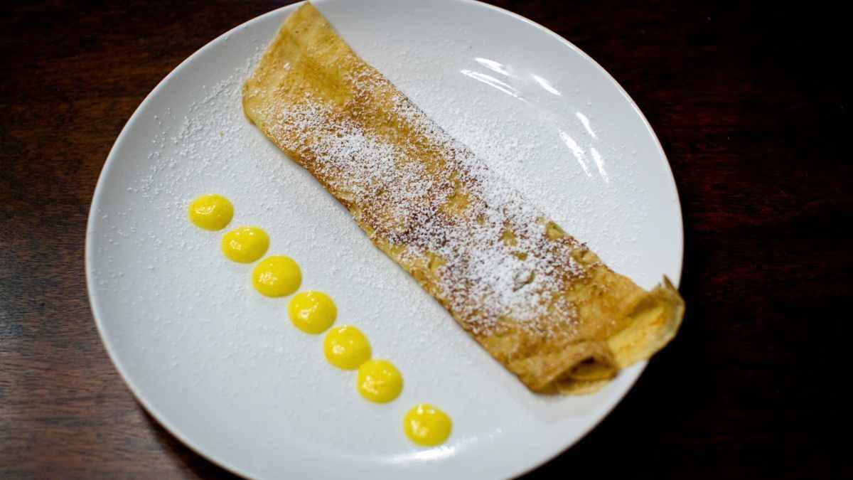Receta de Crepes saludables de avena, chocolate y frutas, del chef Bosquet
