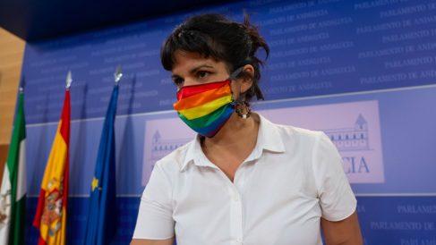 Teresa Rodríguez, líder de Anticapitalistas y expresidenta de Adelante Andalucía..