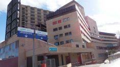 El Hospital Clínico Universitario Lozano Blesa de Zaragoza.