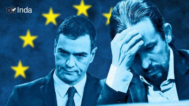 Somos los parias de Europa: gracias Sánchez, gracias Iglesias