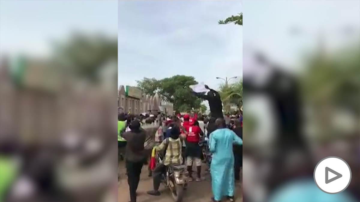 Protestas en Mali