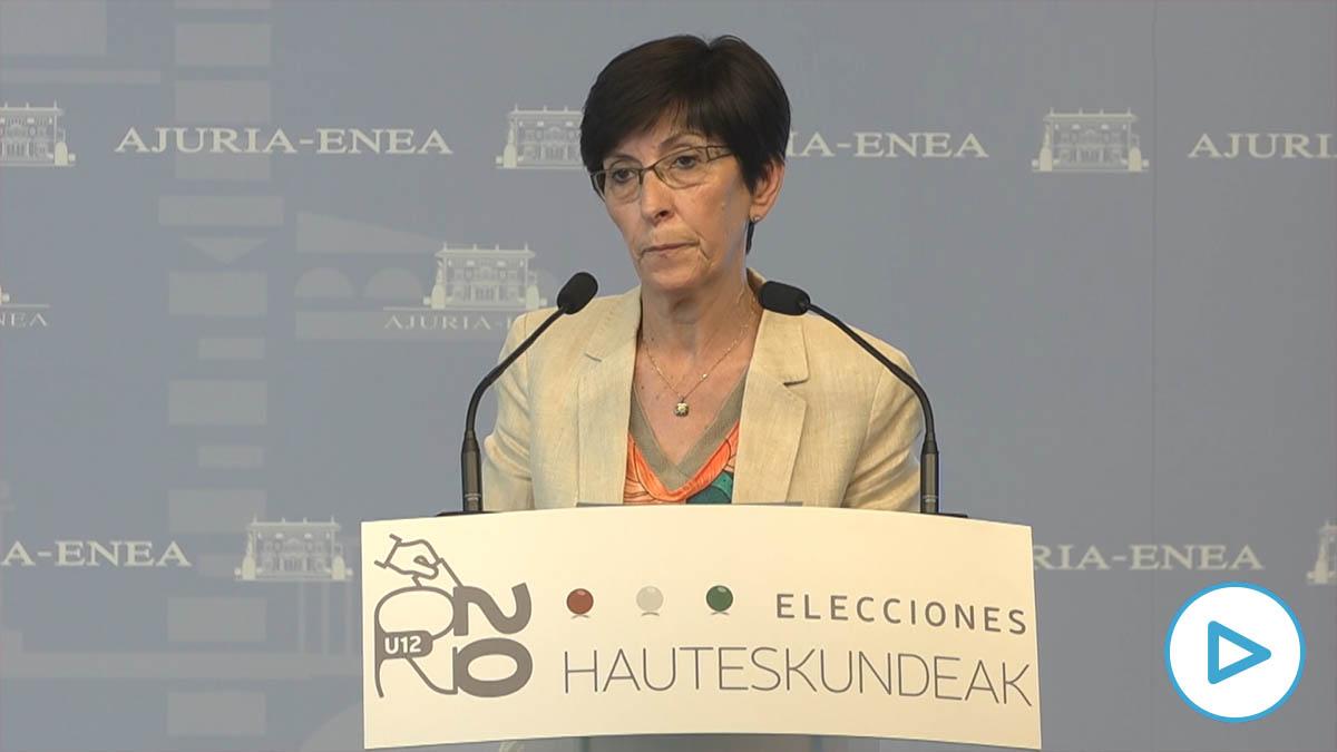 La consejera de Seguridad del Gobierno Vasco, Estefanía Beltrán de Heredia