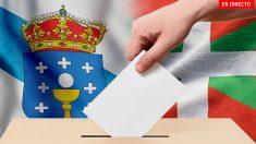 Última hora de las elecciones Galicia y el País Vasco en directo